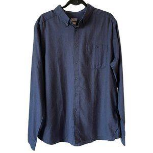 Patagonia Vjosa River Pima Cotton Flannel Shirt XL